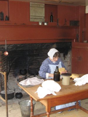 Turning milk into cheese was a common practice in the 19th century because it ensured that milk would not be wasted.