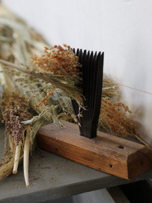 Farmers' Museum Broom Making Heckle